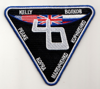 ISS Expedition 46 Embroidered Mission Insignia - unofficial